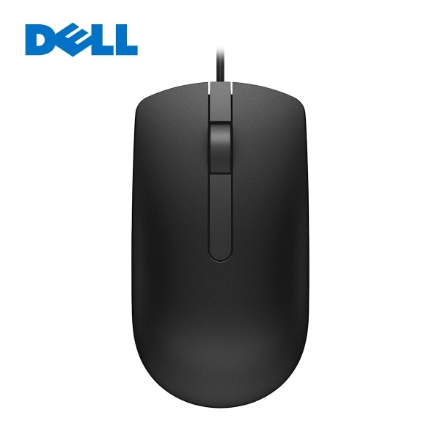 Picture of Mouse Dell MS116 (570-AAIR) Wired USB Black