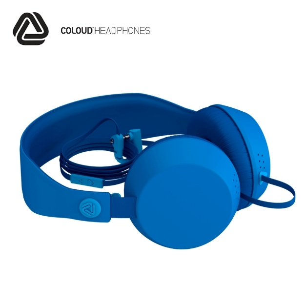 Picture of Headphones w/Mic COLOUD (BOOM) TRANSITION BLUE