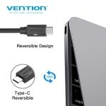 Picture of Type-C CABLE VENTION VAS-A47-B100 1M USB3.0 BLACK