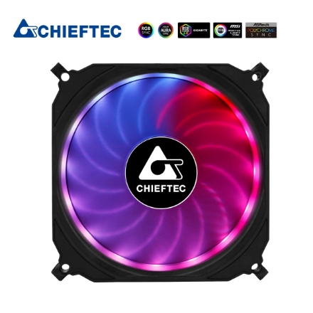 Picture of RGB Case Cooler CHIEFTEC CF-1225-RGB 120MM