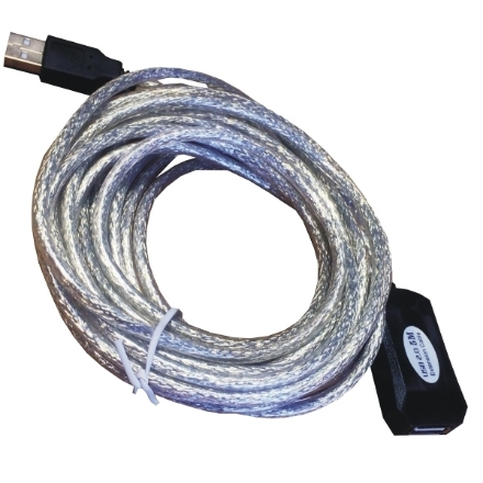 Picture of USB Cable Mcab USB2.0 Active Extension 5M