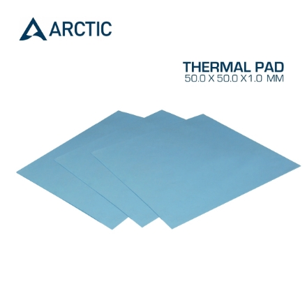 Picture of Thermal Pad ARCTIC COOLING 50.0 x 50.0 x 1.0 mm Blue ACTPD00002A