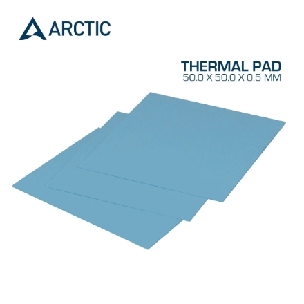 Picture of Thermal Pad ARCTIC COOLING 50.0 x 50.0 x 0.5 mm Blue ACTPD00001A