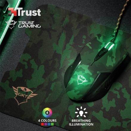 Picture of Mouse + MousePad TRUST GXT 781 Rixa Camo (23611)
