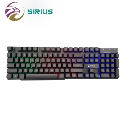 Picture of Keyboard SIRIUS ORION KB-628 USB BLACK