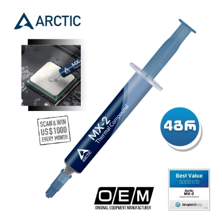 Picture of Thermal Paste Arctic MX-2 4G ACTCP00005B