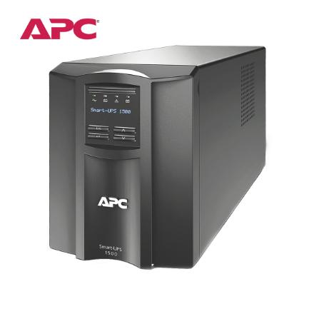Picture of APC Smart-UPS 1500VA, (SMT1500I) Black