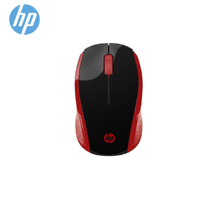 Picture of HP 200 Emprs Red Wireless Mouse (2HU82AA)