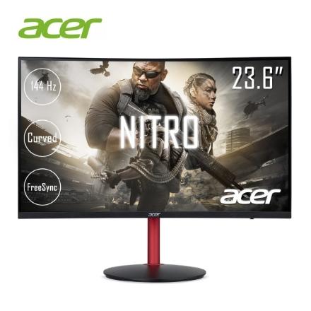 "Picture of Monitor ACER Nitro XZ242Q UM.UX2EE.P01 23.6"" CURVED 144Hz VA LED Full HD 4ms Black"