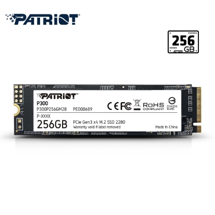 Picture of Hard Drive Patriot P300 256GB M.2 2280 SSD P300P256GM28
