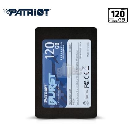 Picture of SSD Hard Drive Patriot BURST PBU120GS25SSDR 120GB SATA III