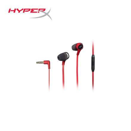 Picture of Headphone HyperX Headset Cloud Earbuds (HX-HSCEB-RD) Red