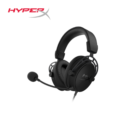 Picture of Headphone Gaming Headset HyperX Cloud Alpha S (HX-HSCAS-BK/WW) Black