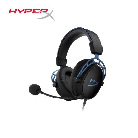 Picture of Headphone Gaming Headset HyperX Cloud Alpha S(HX-HSCAS-BL/WW) Black/Blue