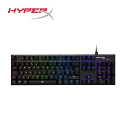 Picture of Keyboard HyperX Gaming Keyboard Alloy FPS RGB Kailh (HX-KB1SS2-RU) Black