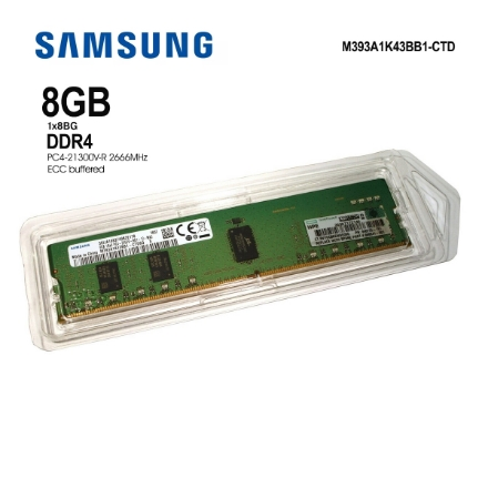 Picture of Memory Samsung M393A1K43BB1-CTD 8GB DDR4 2666 MHz ECC Module