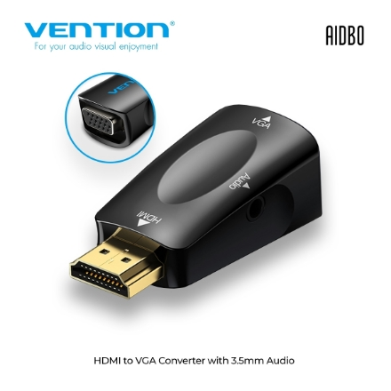 Picture of Adapter HDMI TO VGA VENTION AIDB0 With Audio