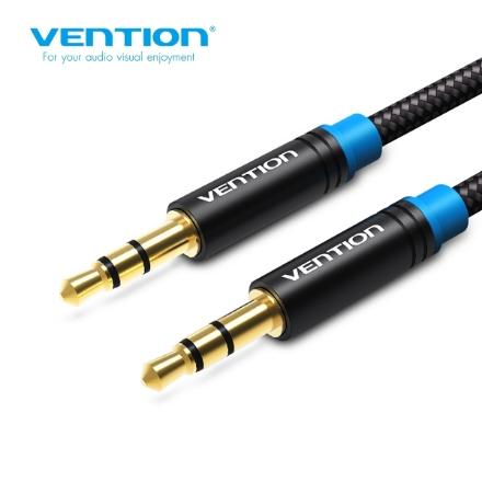 Picture of AUX Cable VENTION P350AC150-B-M 3.5mm 1.5M BLACK