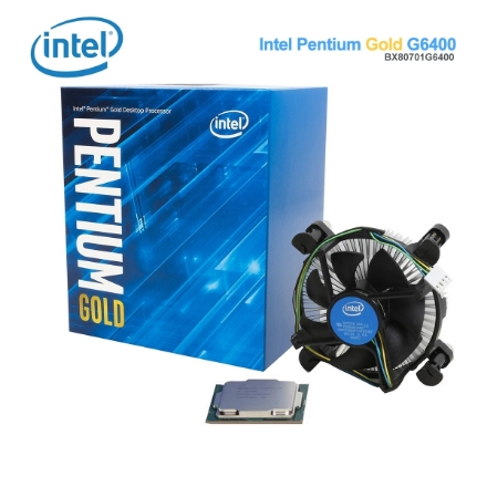Picture of Processor Intel Pentium Gold G6400 4MB Cache 4.0GHz BX80701G6400