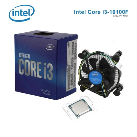 Picture of Processor Intel Core i3-10100F (BX8070110110F) 6MB CASHE 4.30GHz