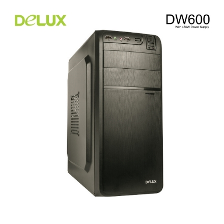 Picture of Case Delux DW600 Mid Tower + 450W Power Supply
