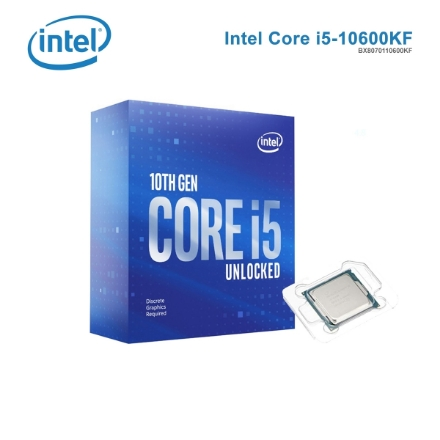 Picture of Processor INTEL Core I5-10600KF 12MB Cache 4.30GHz BX8070110600KF BOX