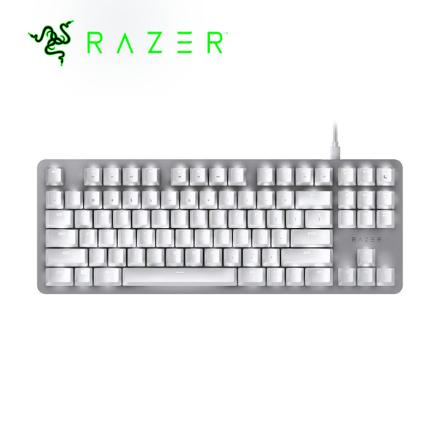 Picture of Keyboard Razer Gaming Keyboard BlackWidow Lite Orange Switch Mercury (RZ03-02640700-R3M1) White