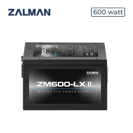 Picture of Power Supply ZALMAN ZM600-LXII 600W Power Supply