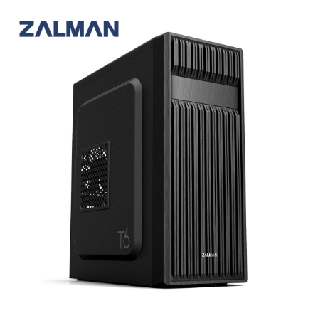 Picture of Case Zalman T6 Mid Tower Patterned Mesh Design BLACK