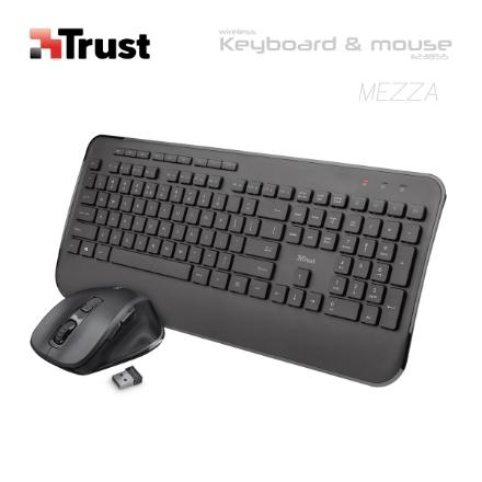 Picture of Keyboard TRUST Mezza 23185  Wireless COMBO