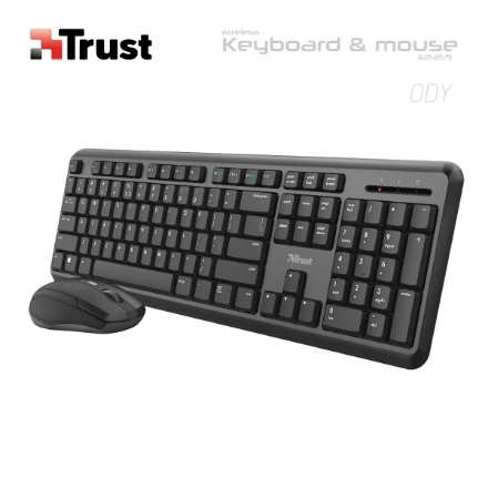 Picture of Keyboard TRUST ODY 24159 Wireless COMBO