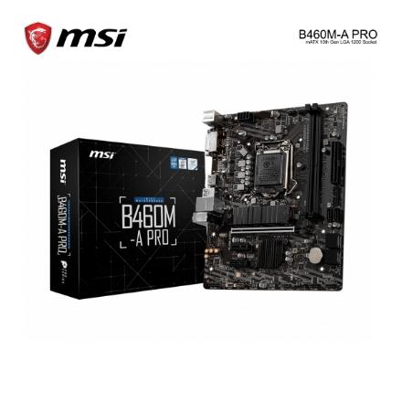 Picture of Mother Board MSI B460M-A PRO mATX 10th Gen LGA 1200