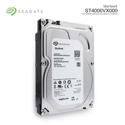 Picture of Hard Drive Seagate SkyHawk 4TB 64MB 6.0Gb/s ST4000VX000