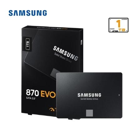 Picture of  SSD Hard Drive Samsung EVO 870 1TB MZ-77E1T0BW SATAIII 6Gb/s