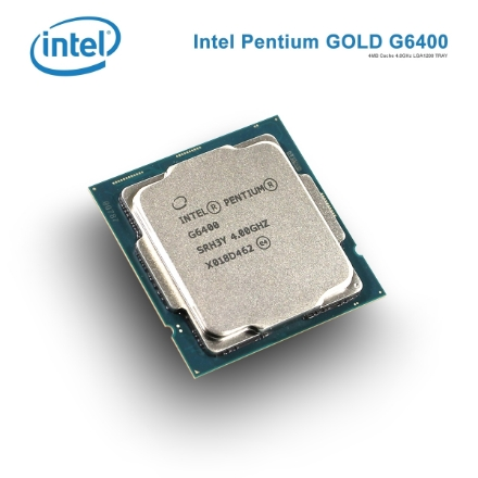 Picture of Processor Intel PentiumGOLD G6400 4MB Cache 4.0GHz LGA1200 TRAY