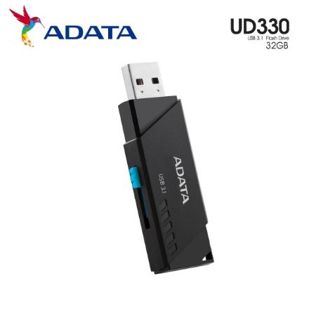 Picture of Flash Memory ADATA UV330 32GB USB3.1 (AUV330-32G-RBK) BLACK