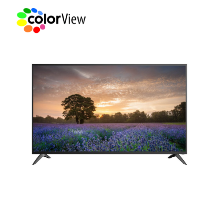 """Picture of TV Colorview 43D1  43"""" Smart Android Georgian Language Black"""