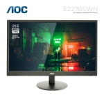 """Picture of Monitor AOC E2270SWN 21.5"""" FHD NT WLED 60HZ 5MS BLACK"""