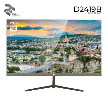"""Picture of Monitor 2E D2419B 2E-D2419B-01.UA 23.8"""" FHD ADS 75Hz 1ms Black"""