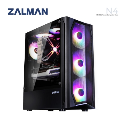 Picture of CASE ZALMAN N4 Mid-Tower BLACK