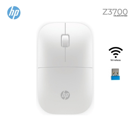 Picture of WIRELESS Mouse HP Z3700 V0L80AA White
