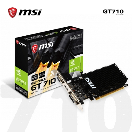 Picture of VIDEO CARD MSI GT710 2GD3H LP 2GB DDR3 64-bit